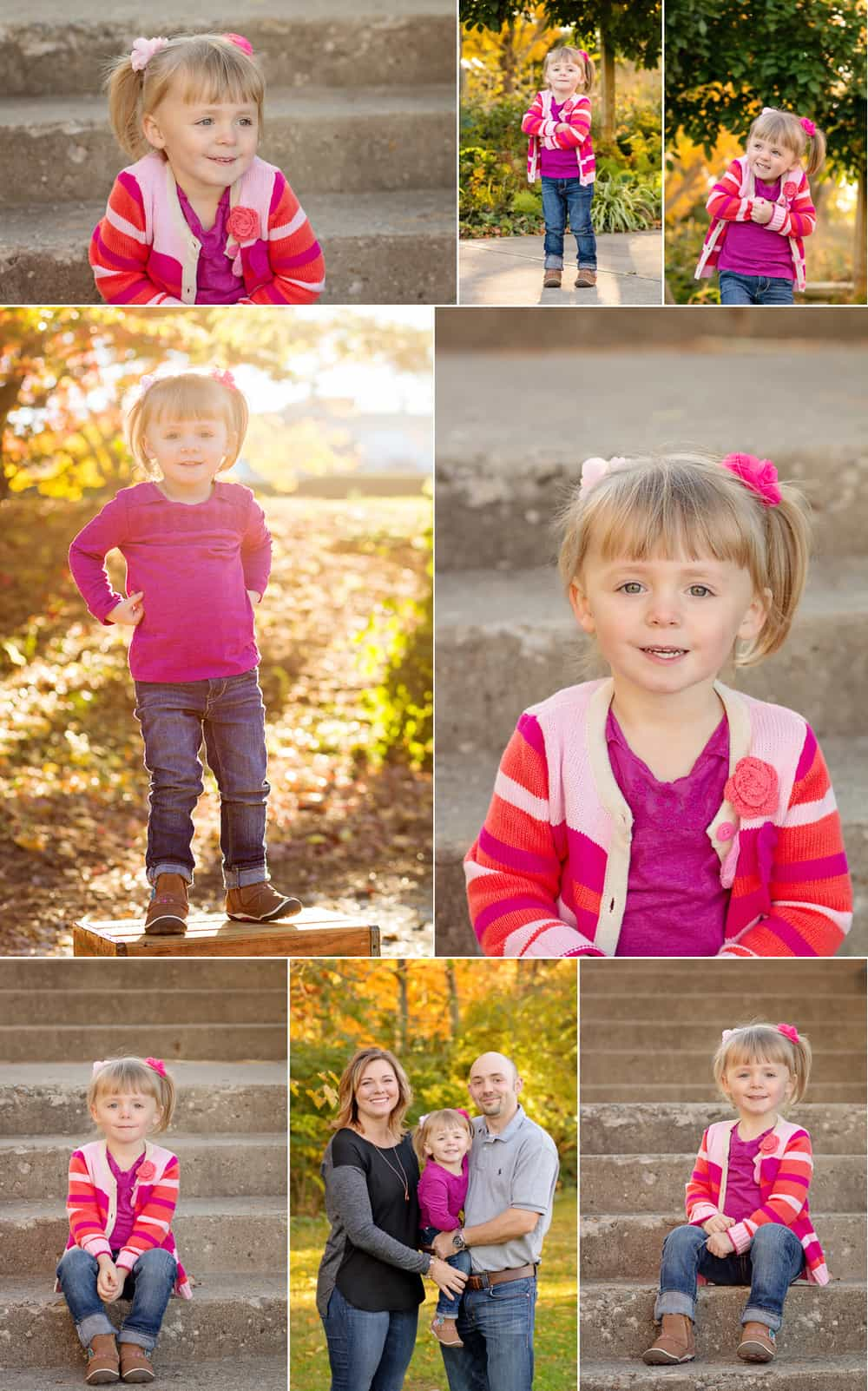Sinchek Photography family session at Ault Park