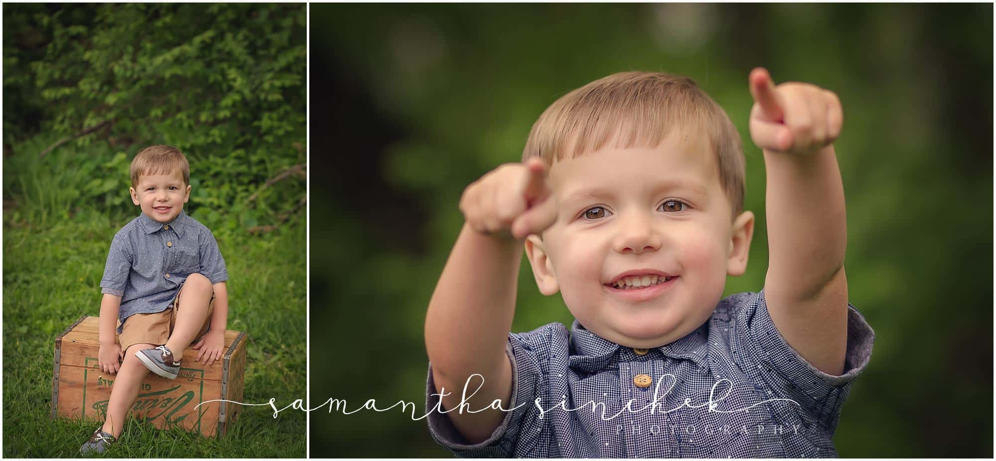 cincinnati family photographer at sharon woods mini session with mother and son