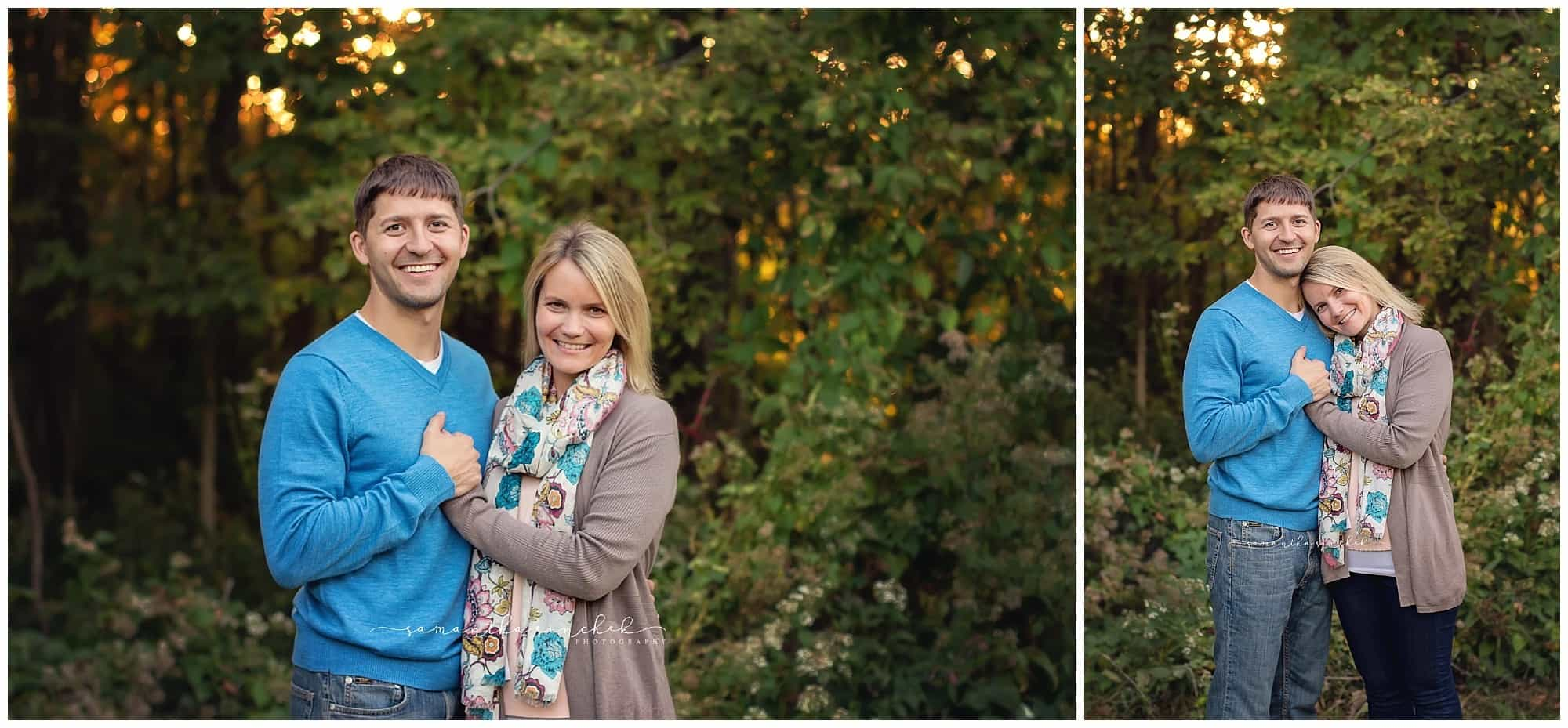 family at sharon woods with samantha sinchek photography