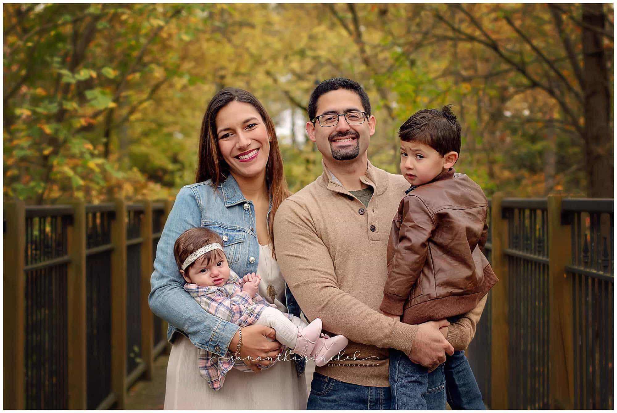 young family during a session with cincinnati photographer