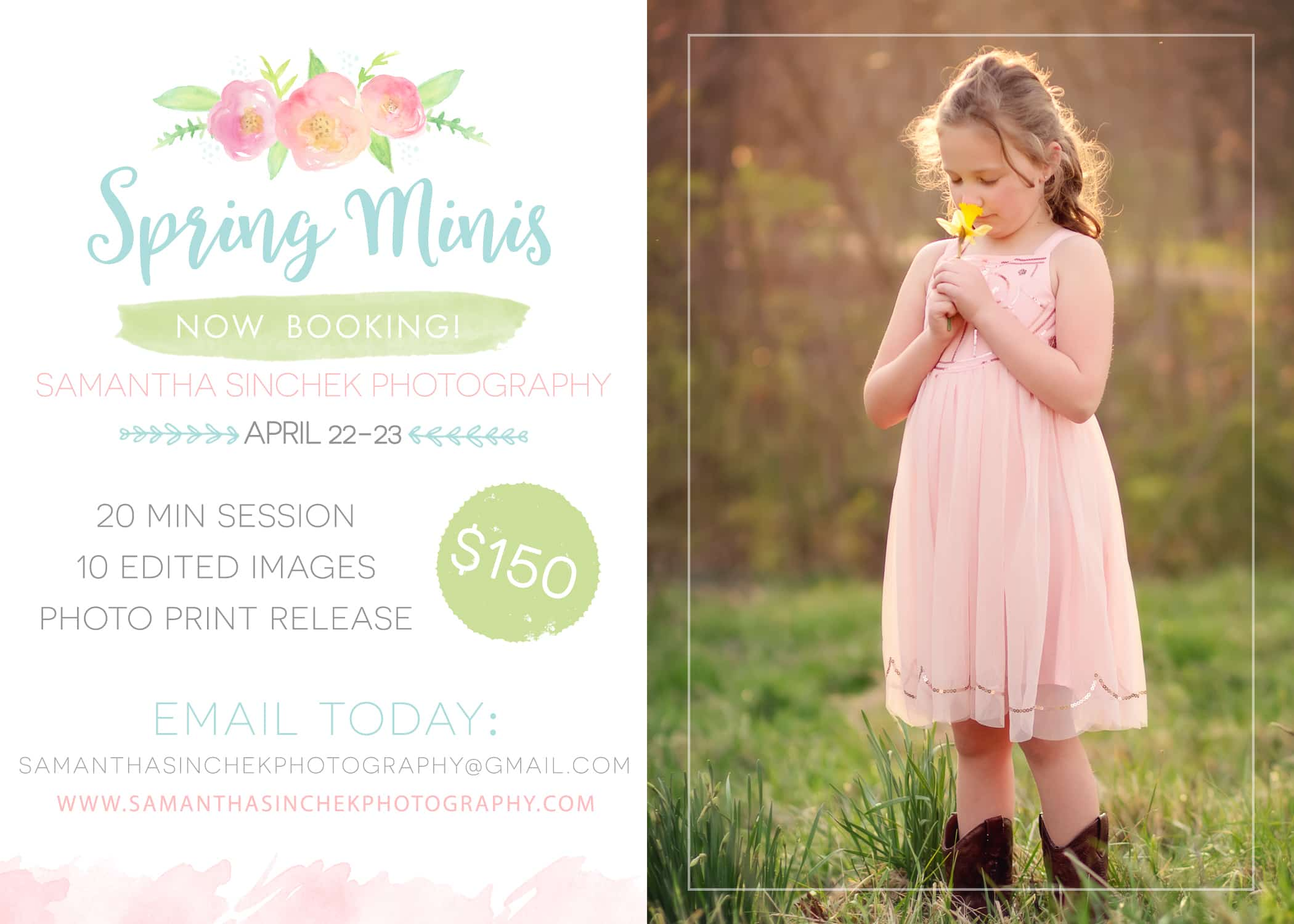 cincinnati spring mini session with sinchek photography 2017