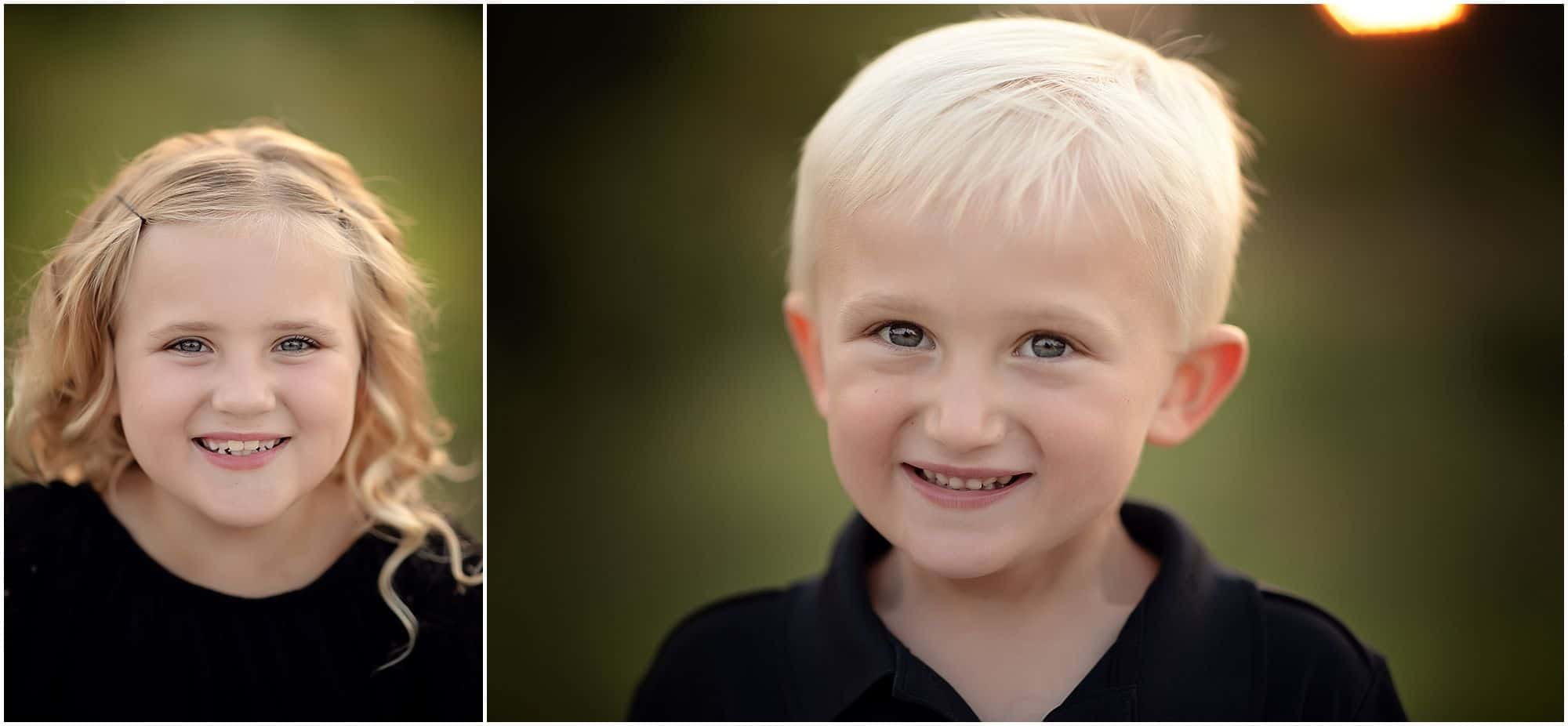 Brother & sister at cincinnati family photographer session with Samantha sinchek photography in cincinnati ohio