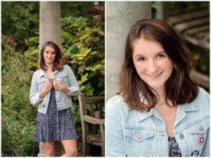 cincinnati senior photo session with samantha sinchek photography at ault park