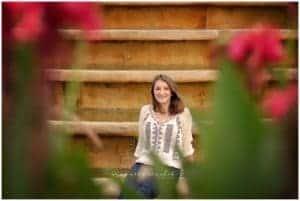 cincinnati senior photo session with samantha sinchek photography at ault park