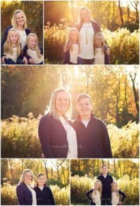cincinnati photographer mini session at ault park with cupp family