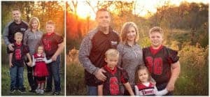 cincinnati photographer mini session at french park with stonecipher family in the fall