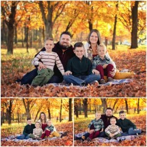cincinnati family photographer samantha sinchek photography at sharon woods with the cripe family